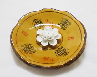 Porclain Lotus Burner